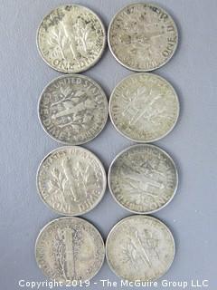 (8) Silver Dimes
