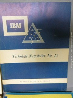 Collection of technical journals published by and for U.S. government early aerospace program - see multiple photos
