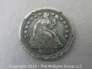 1857 Half Dime