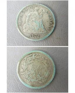 1872 Half Dime