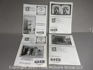 Collection of auction catalogs: antique photos - see multiple photos