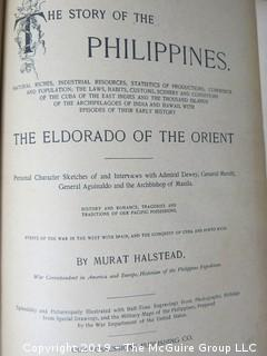"Book: ""The Story of the Philippines: The Eldorado of the Orient""; by Murat Halstead"