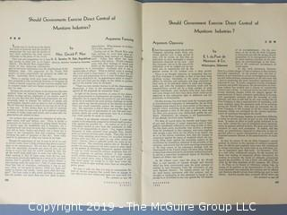 "Magazine: "" 1934 Congressional Digest"""