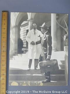 Large Format Photo; B&W; inscribed on reverse
