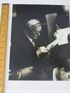 Arthur Rickerby's photo of UK delegate at the UN