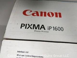 NIB Canon PIXMA iP 1600 photographic printer