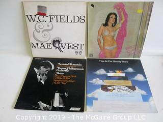 Collection of (4) Vinyl Record Albums