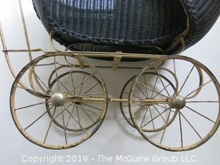 19th C Doll Carriage