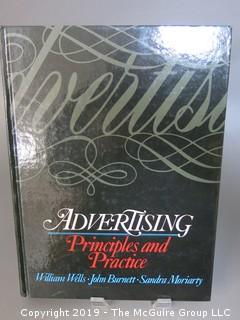 "Book: Advertising: Principles and Practice"" by William Wells, John Burnett and Sandra Moriarty"