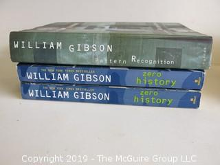 Collection of books by William Gibson