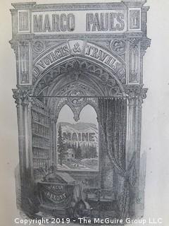 Set of 6 vol: Travel books by Jacob Abbott; 1835