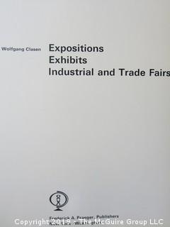 "Book: ""Expositions, Exhibits, Industrial and Trade Fairs"" by Wolfgang Clasen; published by Frederick A. Praeger"