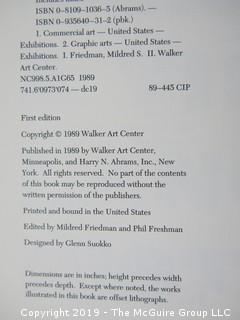 "Book: ""Graphic Design in America: A Visual Language History""; 1989 Exhibition of AIGA"