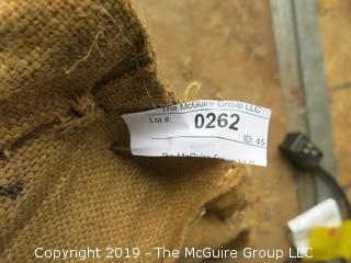 (4) Burlap Tea Bags