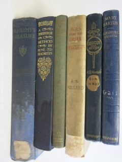 Collection of literary books