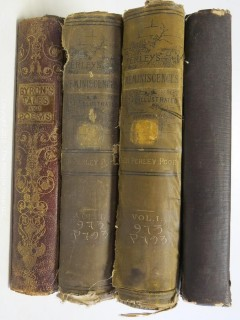 "Collection of books including ""Impressions of America""; 1836"
