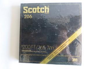 "(4) Sealed NIB Scotch 7"" Reel to Reel Tapes"