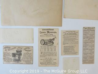Collection of Ephemera
