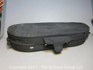 Meisel Professional Padded Violin Case with hygrometer