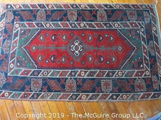 "48 x 80"" Handwoven Turkish Wool Rug"