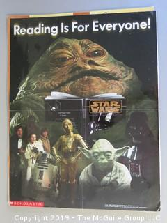 Children's Scholastic Posters including 1997 Star Wars