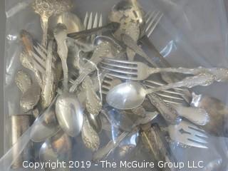 Misc. sterling flatware; 723 grams