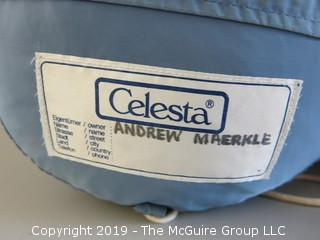 "(2) Down filled ""Celesta"" sleeping bags; pre-owned"