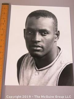 "11 x 14"" Black and White Original Photo of Roberto Clemente; by acclaimed photographer Arthur Rickerby"