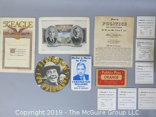 Collection of Political Ephemera