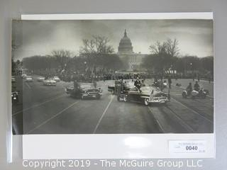 Eisenhower Inaugural Parade Photo taken by Acclaimed Photographer Arthur Rickerby
