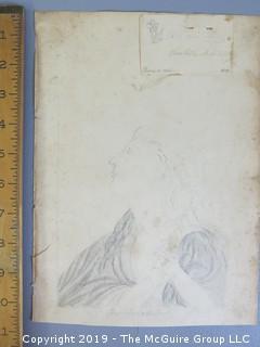 """Pencil Portrait of a Woman""; on paper"