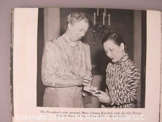 "Booklet: ""The First Lady of China (The Historic Visit of MME. Kiang Kai-Shek to the United States; 1943"