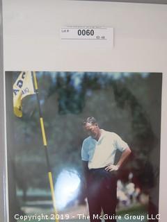 Golfer Arnold Palmer contending at the PGA Championship