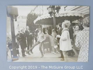 Collection of Washington DC Ephemera, including the Bijou Burlesque Theatre Card and protesters of the United Nations outside the Fairmont Hotel