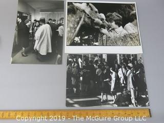 """Photos of Arthur Rickerby for Life Magazine; one titled """"Washington Girls"""""""
