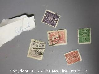 Collection of foreign postage stamps