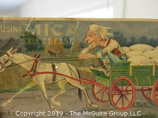 Creative Advertising for Axle Grease; circa early 20th C