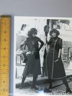 Large Format B+W Photo of 1975 Danish Hindsgaul Mannequins (YES, ALL ARE MANNEQUINS!)
