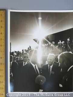 Iconic large format B + W Photo of JFK BY Arthur Rickerby