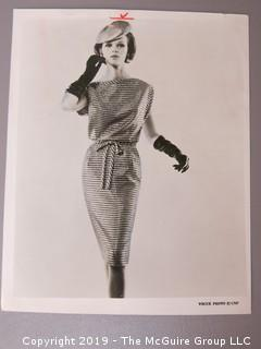1969 Large Format B + W Fashion Photos, including Vogue.