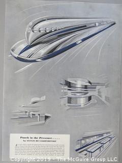 Steamline Design from Esquire Magazine; 1946