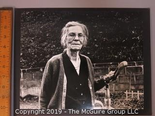 "Large Format B + W Photo Titled ""The Face of Appalachia""; by Douglas Chevalier"