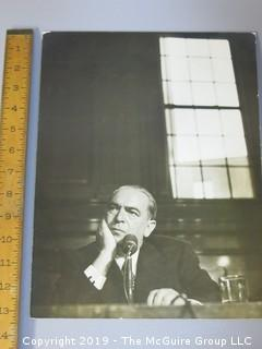 Large Format B + W Photo; thought to be William O'Dwyer; 100th Mayor of New York; 1946-1950