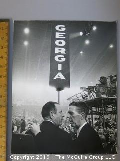 Large Format B + W Photo; National Democratic Convention; Chicago, 1968