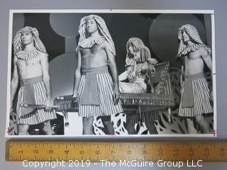 Large Format B + W Photo of Mrs. William Wrigley at a Chicago Fashion Show; 1986