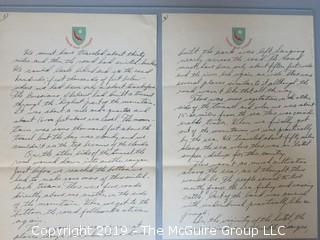 1944 WW II Letter Home from soldier in Tehran