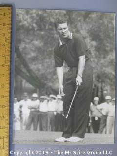 Pro Golf Tour Event c 1960's; subject unidentified