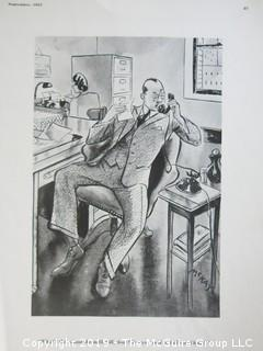 (4) Vintage Esquire Cartoons