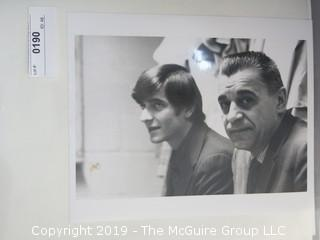 Collection of Sports Photos including Pistol Pete Maravich and Father; taken by Arthur Rickerby