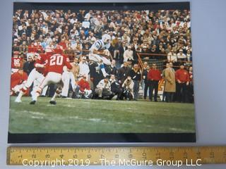 Large Format Color photo featuring #19, Lance Allworth